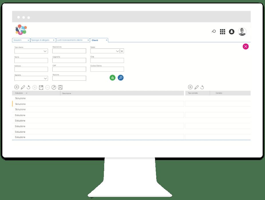 CRM 4WS.KeepIT & App raccolta ordini | Digitalizzazione Vendita B2B | Sinesy