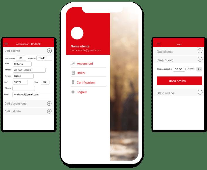 Servizio post vendita| app mobile B2C | retail innovation | Sinesy