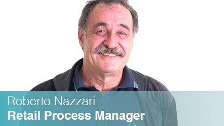 Team Sinesy | Roberto Nazzari | Retail Process Manager