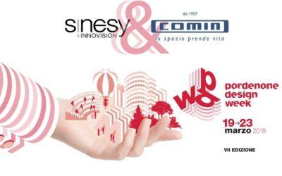 Sinesy Innovision e COMINShop insieme alla Pordenone Design Week