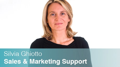 Team Sinesy | Silvia Ghitto | Sales & Marketing support