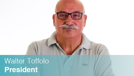 Team Sinesy | Walter Toffolo | Presidente