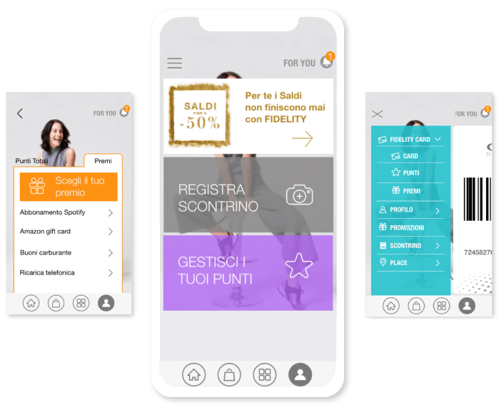 app mobile B2C | retail innovation | Sinesy