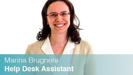 Marina Brugnera - Help Desk Assistant Sinesy Innovision