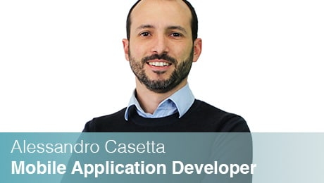 Team Sinesy | Alessandro Casetta | Mobile Application Developer