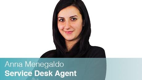 Team Sinesy | Anna Menegaldo | Service Desk Agent