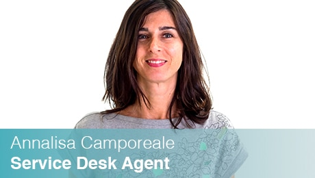 Team Sinesy | Annalisa Camporeale | Service Desk Agent