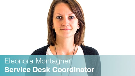 Team Sinesy | Eleonora Montagner | Service Desk Coordinator