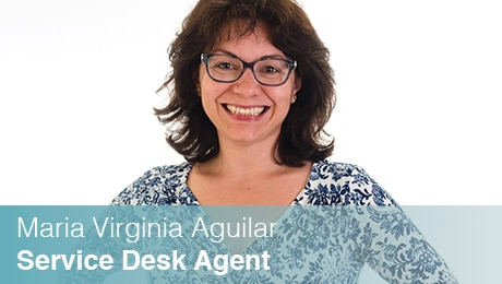 Team Sinesy | Maria Virginia Aguilar | Service Desk Agent