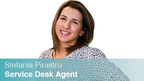 Team Sinesy | Stefania Pirastru | Service Desk Agent