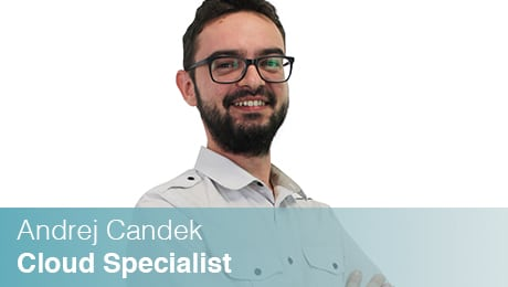 Team Sinesy | Andrej Candek | Cloud Specialist