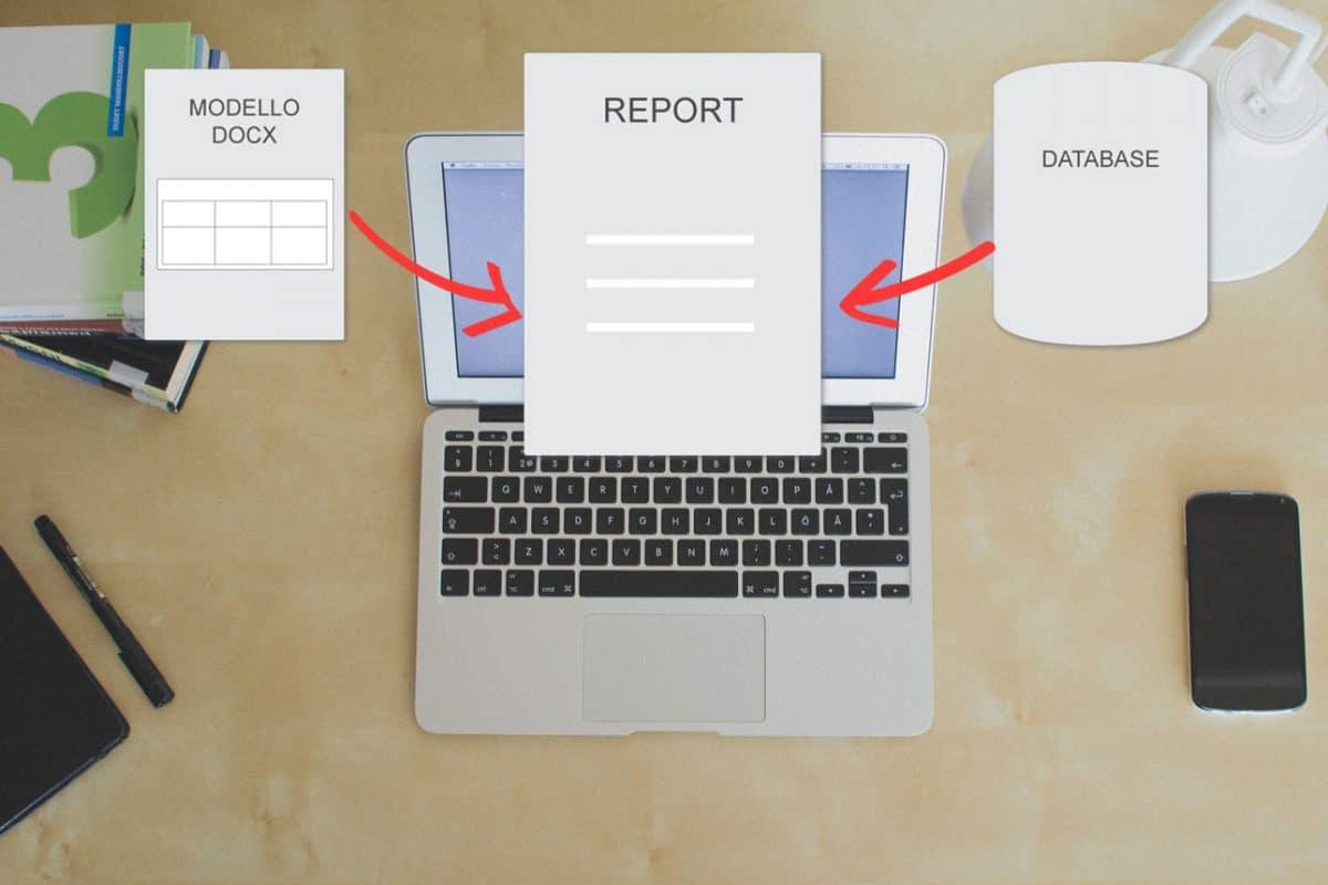 creare report