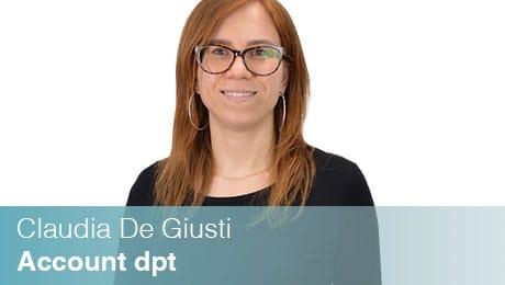 Team Sinesy | Claudia De Giusti | Account dpt