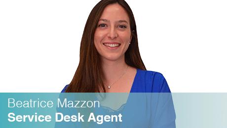Beatrice Mazzon - Service Desk Agent di Sinesy Innovision